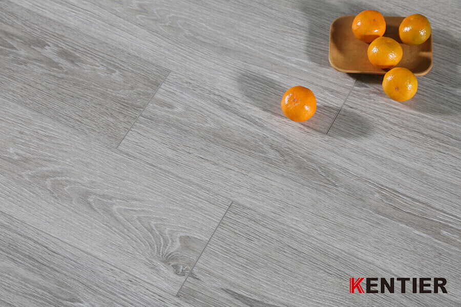 Oak Wood with Grey Color SPC Flooring