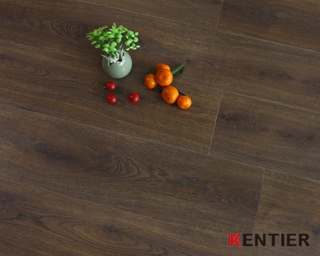 K80409-Free Formaldehyde Emission Laminate Wood Flooring From Kentier