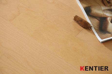 M1815-Yellow Wire Brushed Engineered Flooring