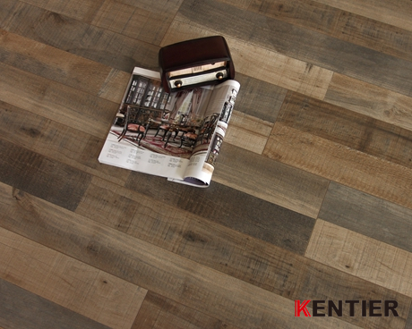 K53301-Multi-strip Looking Laminate Flooring with Crystal Surface