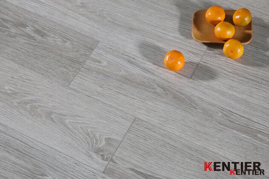 Oak Wood with Grey Color Luxury Vinyl Tile