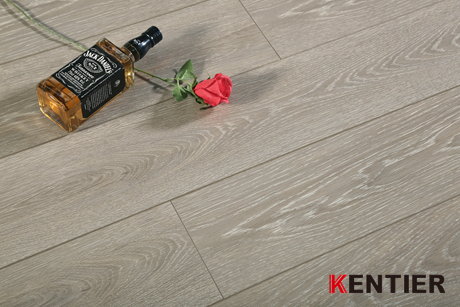 K0121-Wood Laminate Flooring with Crystal Surface Treatment for Indoor Usage