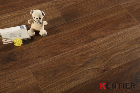 K1302-Handscraped Surface Laminate Flooring for Antique Treatment