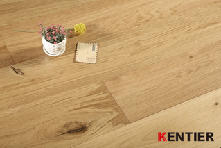 K5102-French Oak Engineered Flooring with Handscraped And UV Lacqueer Treatment