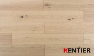 G005-Oak Wood Veneer with HDF Core--lamiwood Flooring with Handscraped Treatment